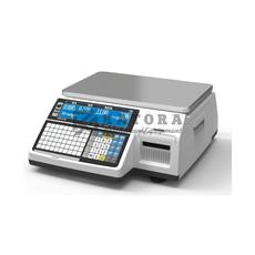 Весы торговые с печатью этикеток CAS CL-3000-15B