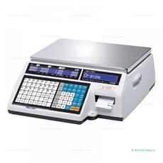 Весы торговые с печатью этикеток CAS CL-5000J-15IB