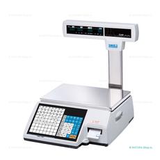 Весы торговые с печатью этикеток CAS CL-5000J-15IP