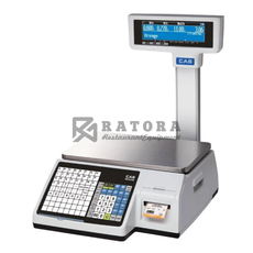Весы торговые с печатью этикеток CAS CL-3000-15P