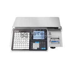 Весы торговые с печатью этикеток CAS CL-3000J-30B
