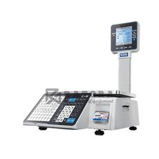 Весы торговые с печатью этикеток CAS CL-3000J-30P
