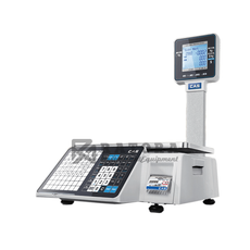 Весы торговые с печатью этикеток CAS CL-3000J-06P