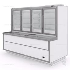 Комбинированный шкаф-бонета МХМ Эверест ВХН-2,5