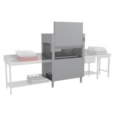 Туннельная посудомоечная машина Elettrobar NIAGARA 411.1 T101EBDWY