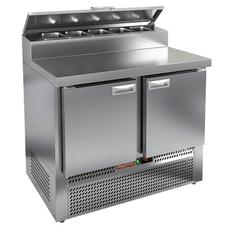 Стол холодильный для пиццы HICOLD PZE2-11/GN (1/6H)
