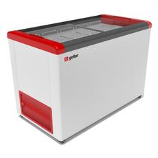 Ларь морозильный Frostor GELLAR FG 400 C красный