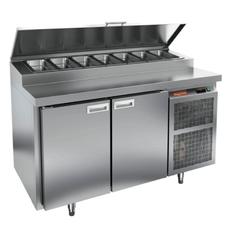 Стол холодильный для пиццы HICOLD PZ1-11/GN (1/3H)