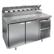 Стол холодильный для пиццы HICOLD PZ2-11/GN (1/6H) камень
