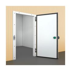 Распашные одностворчатые полупотайные холодильные двери ПрофХолод