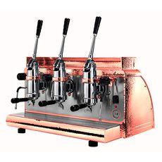 Кофемашина Victoria Arduino Athena leva 3 copper 380 В