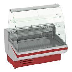 Витрина кондитерская холодильная CRYSPI Gamma-2 К 1350 RAL3004