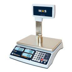 Весы торговые электронные со стойкой Mas MR1-30P