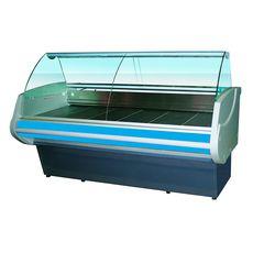Витрина холодильная Golfstream Двина CS 120 ВСН, голубая