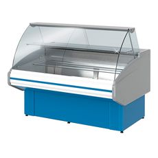 Витрина холодильная Golfstream Двина CS 120 ВВ, голубая