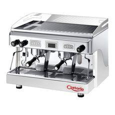 Кофемашина Astoria (C.M.A.) Touch SAE/2 белый/сталь