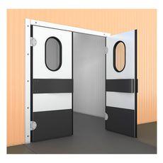 Маятниковая дверь ПрофХолод МДД РП 1000x40x1800 RAL 9003