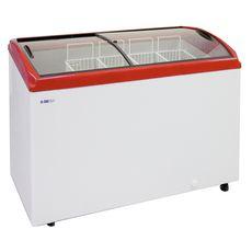 Ларь морозильный Italfrost CF300C красный (без корзин)