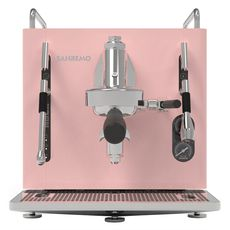 Кофемашина Sanremo Cube V Absolute (розовая)