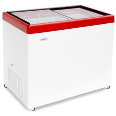 Ларь морозильный СНЕЖ МЛП 400 красный